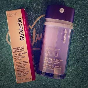Strivectin Hyaluronic serum & Intensive Eye Creme